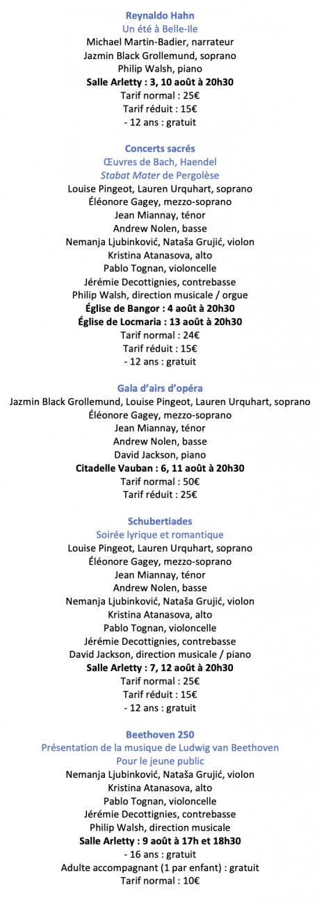 Programme 2020 bis